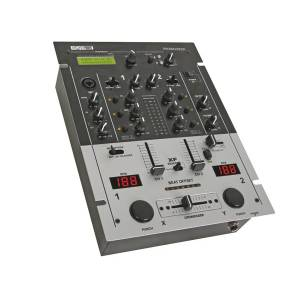 PROFESSIONAL DJ MIXER - 2 CHANNELS - DSP EFFECTS