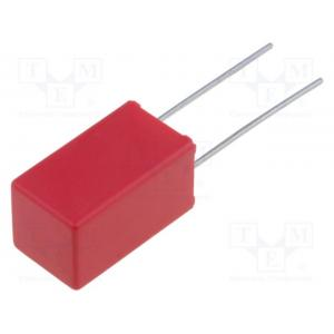 Capacitor: polypropylene; 2.2nF; 5mm; ±5%; 3x7.5x7.2mm; -55÷100°C