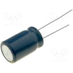 Capacitor: electrolytic; low impedance; THT; 2200uF; 25VDC; ±20%