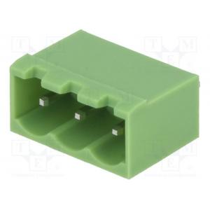 Pluggable terminal block; Contacts ph: 5.08mm; ways: 3; straight