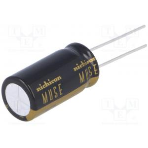 Capacitor: electrolytic; THT; 22uF; 50VDC; Ø8x11.5mm; Pitch: 3.5mm