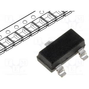 Diode: switching; SMD; 100V; 0.2A; Package: reel,tape; SOT23; 330mW