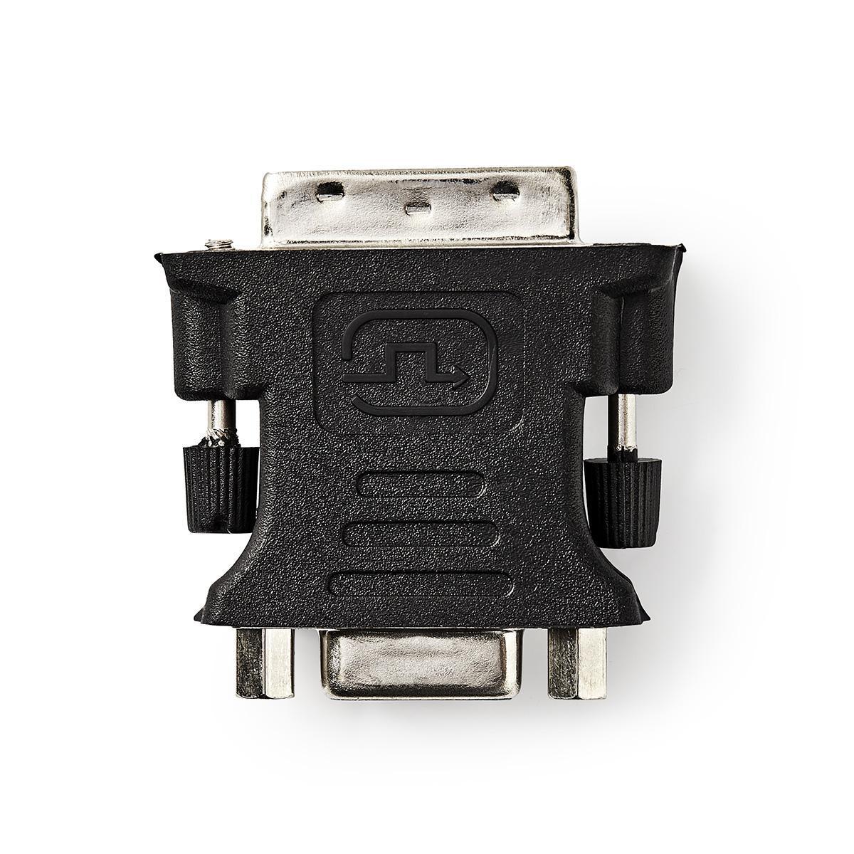 4bd8adf7101 Monitori üleminek DVI-I pistik - VGA pesa must - Oomipood