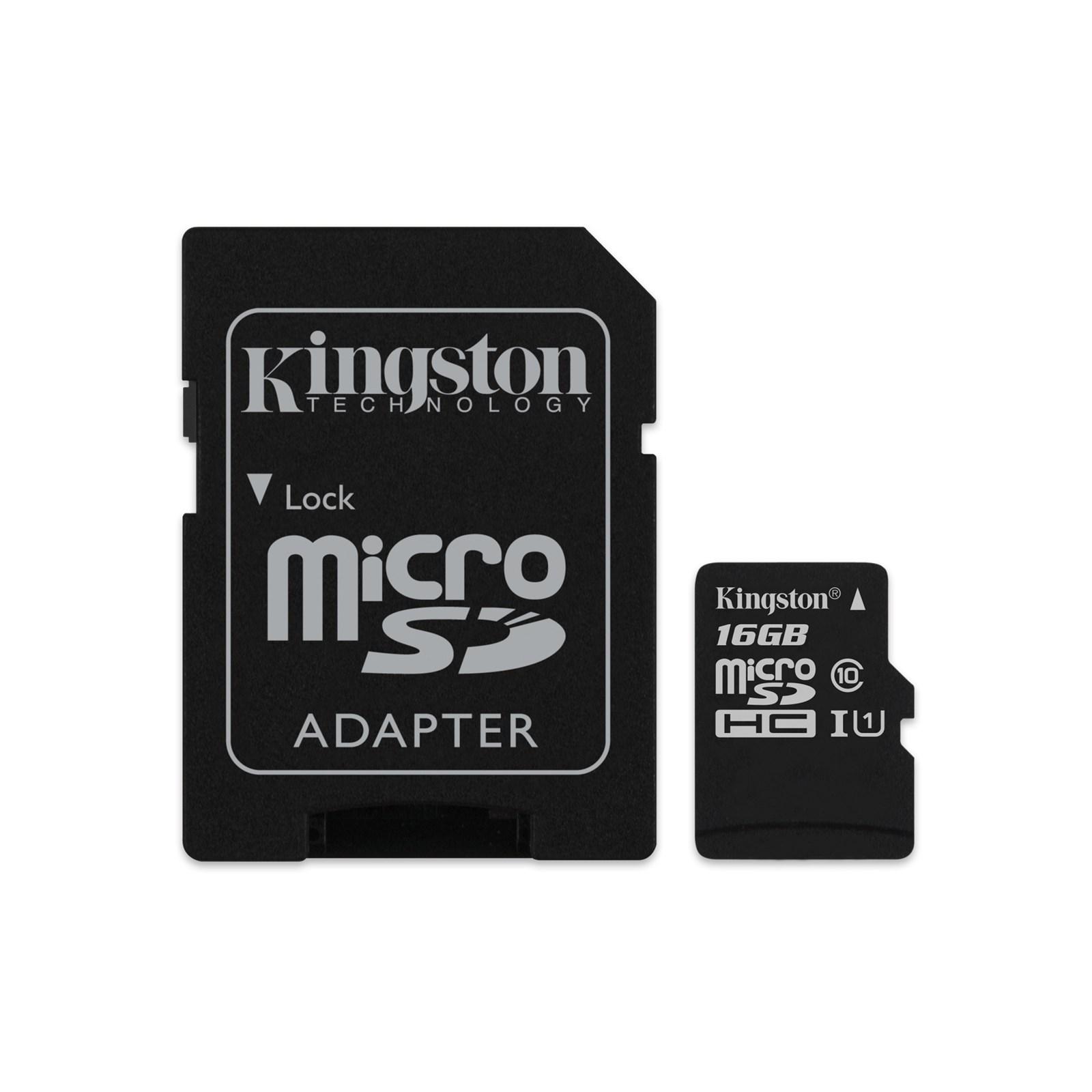 8e1311c770f Mälukaart 16GB Micro SD Class10 Kingston Canvas Select - Oomipood